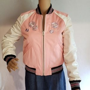 Brand New Coach Jacket Pink Crush MSRP $598